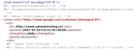Чем создавать Sitemap для WordPress