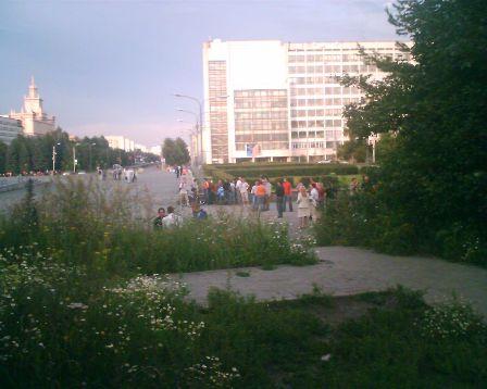 Фотоотчет со Дня Системного администратора   2007 в Челябинске
