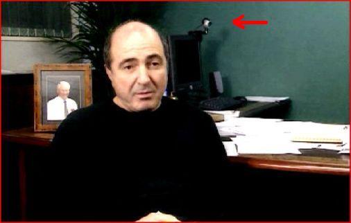 Борис Березовский проводит web конференции?