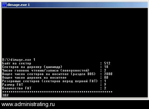 Как сделать .flp образ FDD дискеты для использования в VMWare