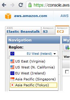 Датацентры Amazon в Токио