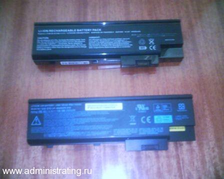 Опыт покупки батареи для ноутбука на eBay