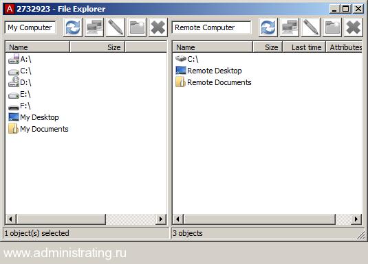 Ammyy Admin как средство удалённого управления компьютером
