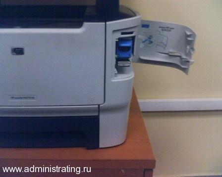 МФУ со степлером   Hewlett Packard m2727nfs