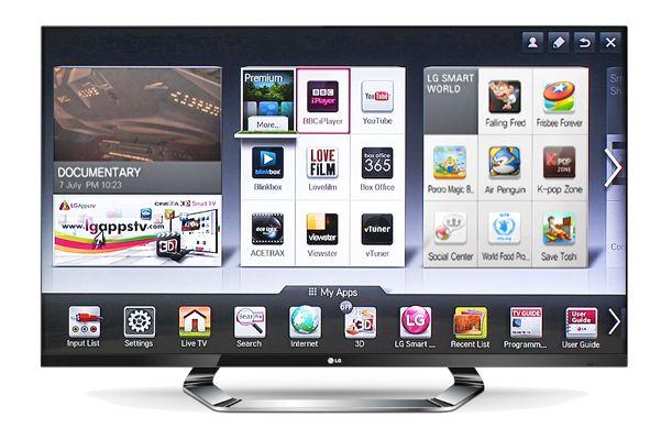 Стильный и современный телевизор LG 42LM620S