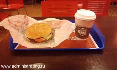 Упаковка бургеров в KFC, BurgerKing и MacDonalds