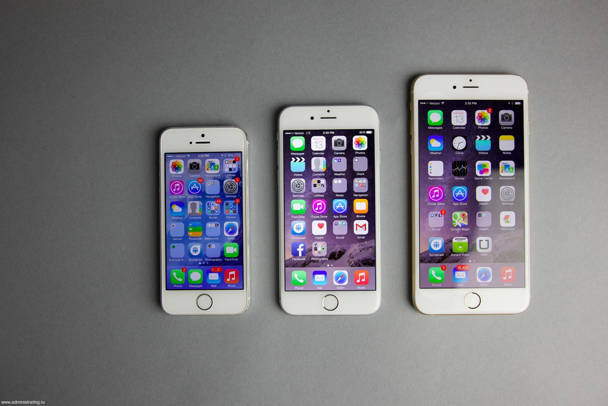 Открывайте новые горизонты с iPhone 6 Plus!